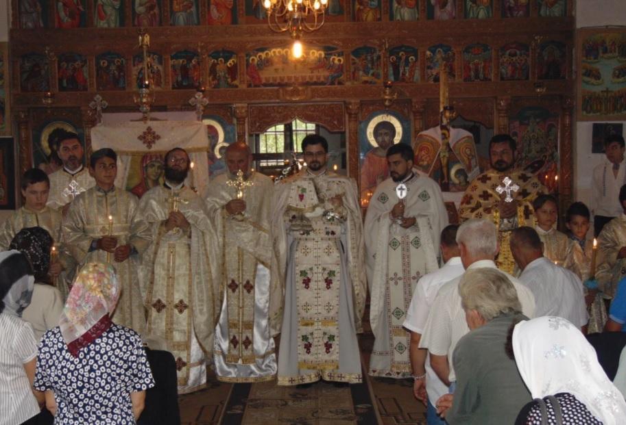 Moment din Sf. Liturghie